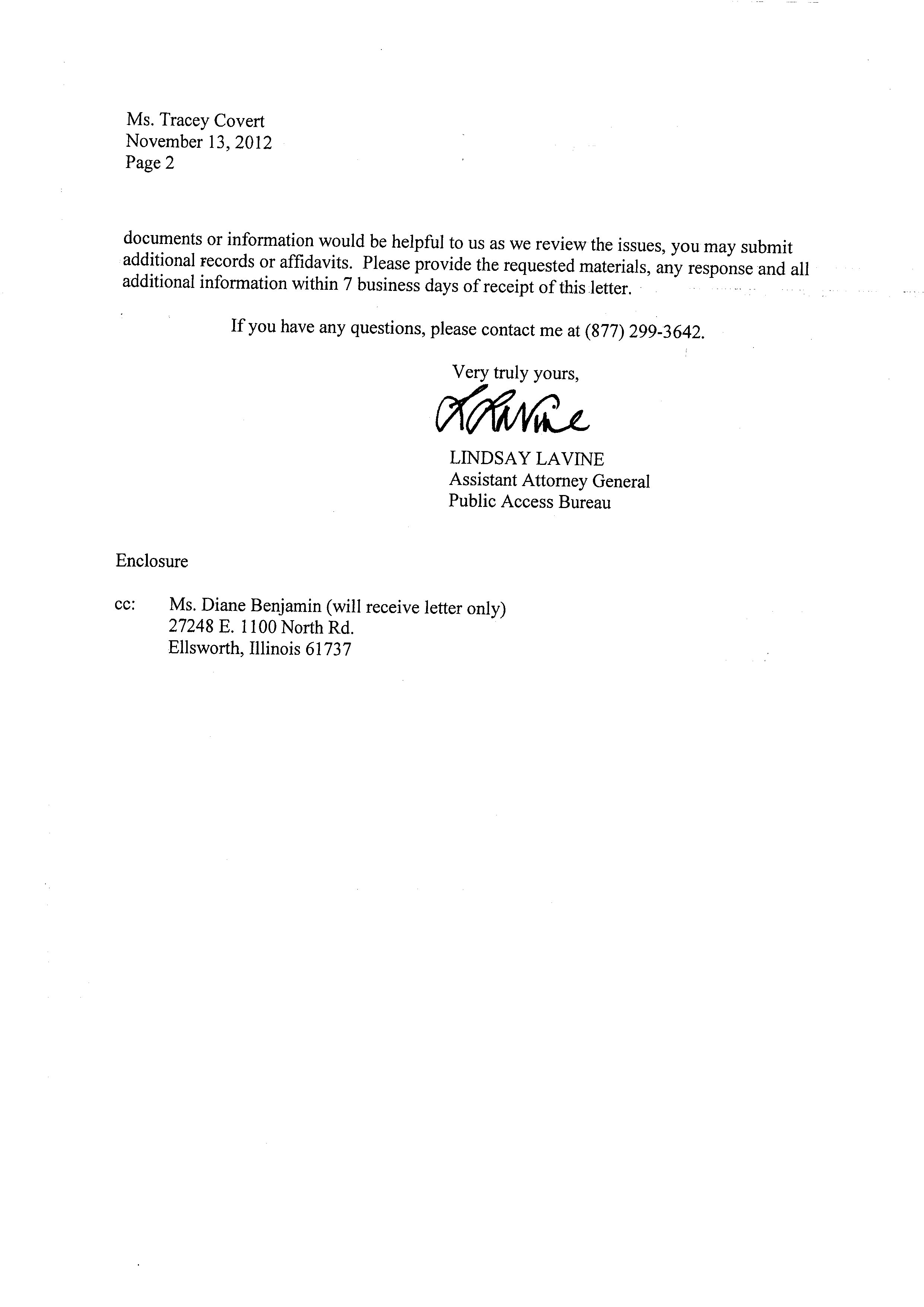 Example Of Unemployment Appeal Letter