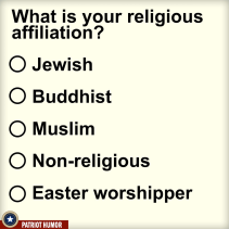 easter worshipper