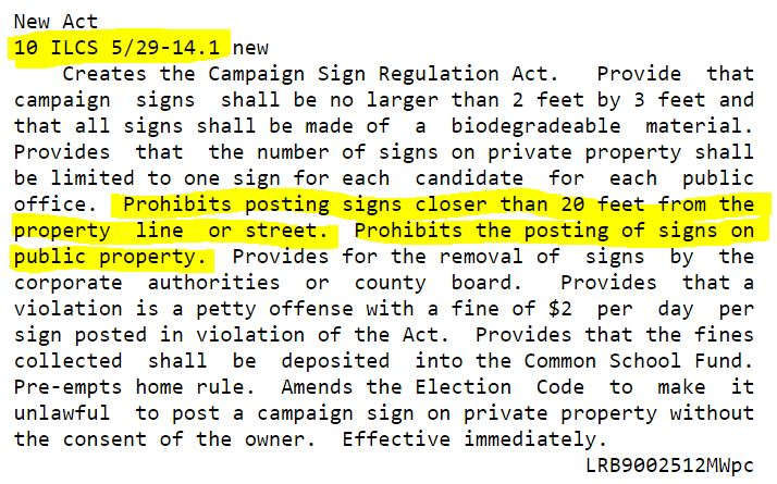 il law signs