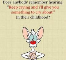 keep crying and