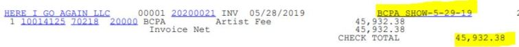 nbcpa artist fee