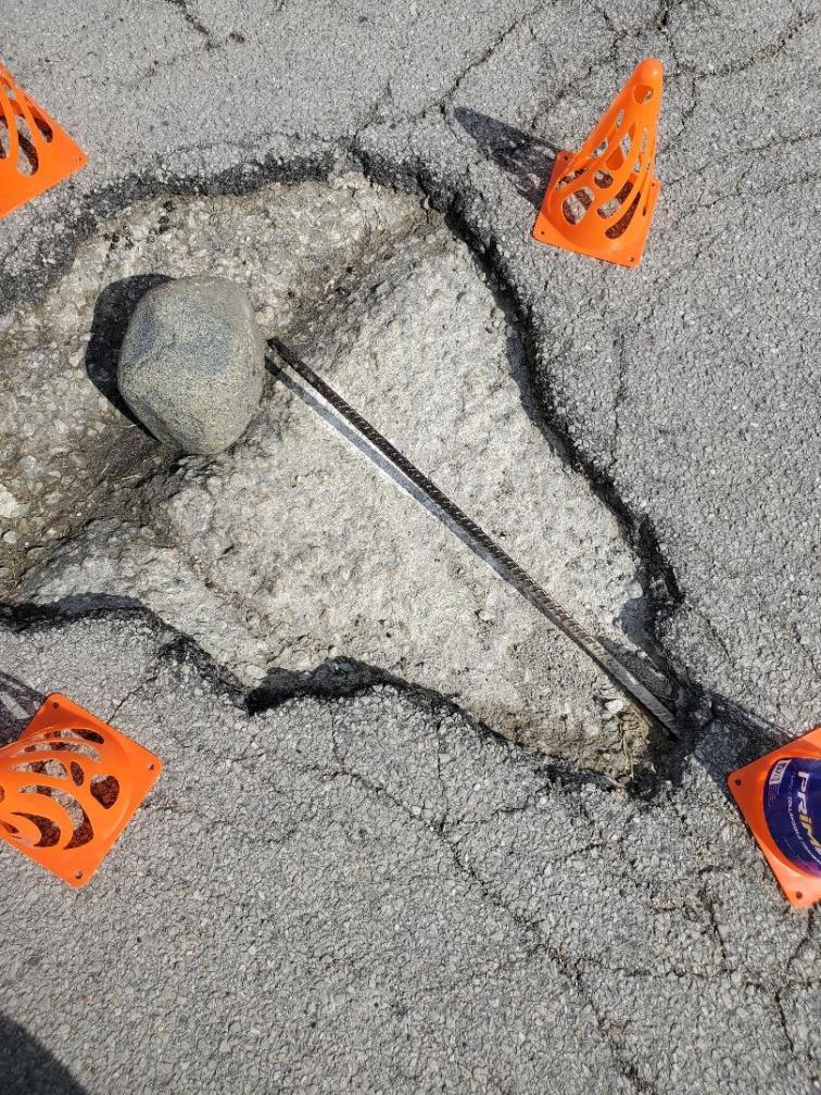 pothole alert