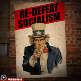 re-defeat socialism