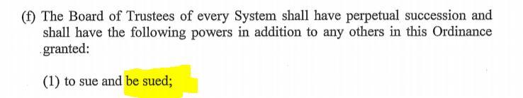 trustee sued