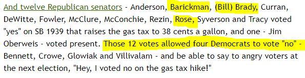 senat gas tax