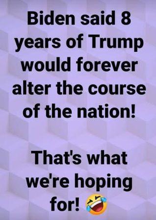 8 yrs Trump