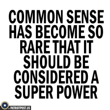 common sense super power