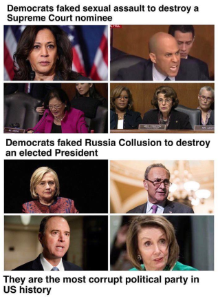 Dems faked