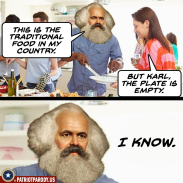 Karl Marx food for thought