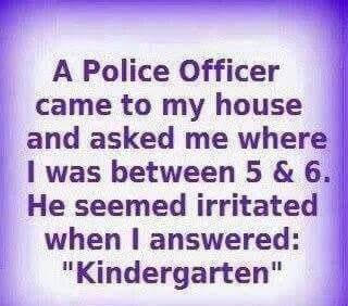 police question
