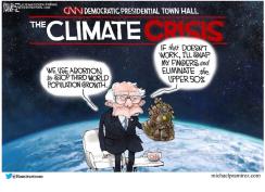 bernie climate answer