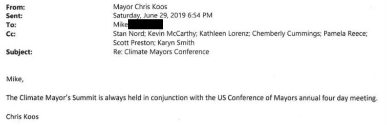 climate summit Koos