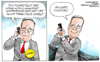 comey call from Hillary