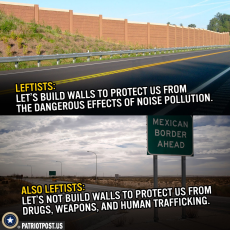 leftists' view of walls