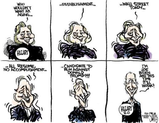 transformation to Biden