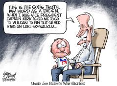 uncle joe's war stories