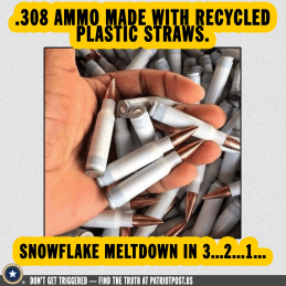 ammoo from plastic straws