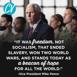 Freedom not socialism