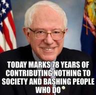 Sanders at 78