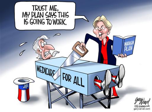 Warren Medicare4all plan