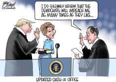 as many times oath