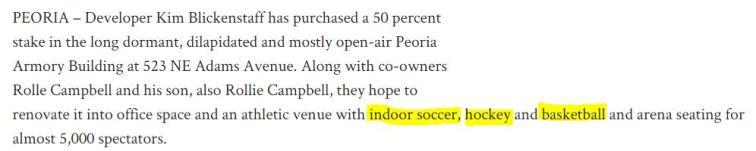excerpt Peoria