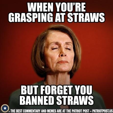 grasping at straws