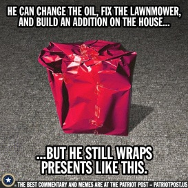 he still wraps like this