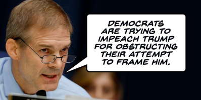 impeachment obstruction