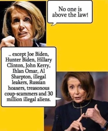 no one above the law except