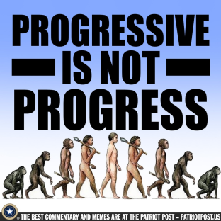 progressive is not progress