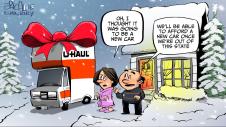 uhaul for Christmas