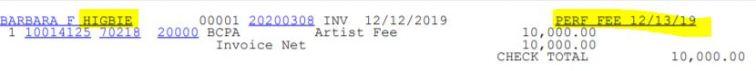 aerist fee