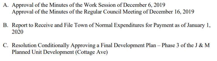 agenda 1-6