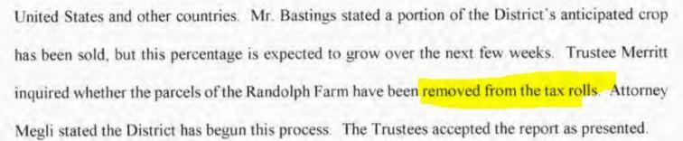 pdf page 39 2018 minutes Randolph farms