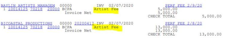 bcpa artist fee feb 2