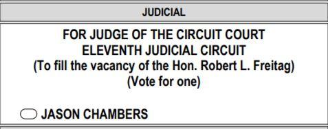 chambers vote