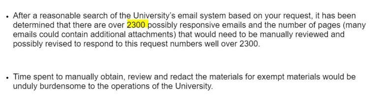 ISU denial