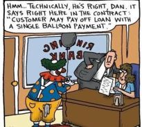 balloon payment