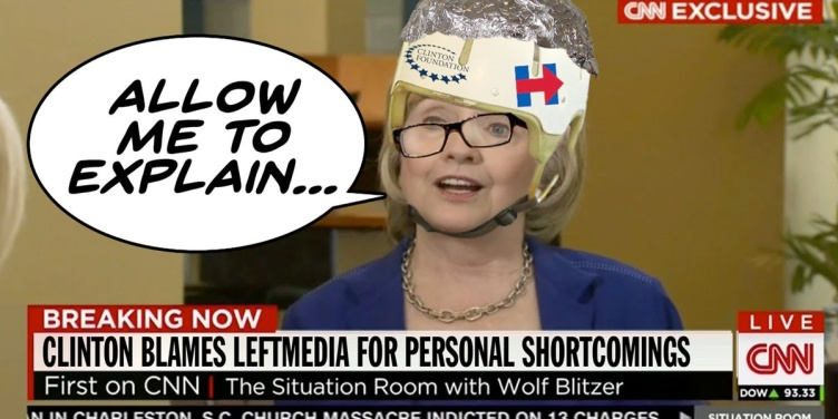 clinton blames media