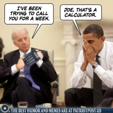 Joe calls Barack