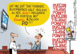 Russian-Bloomberg influence