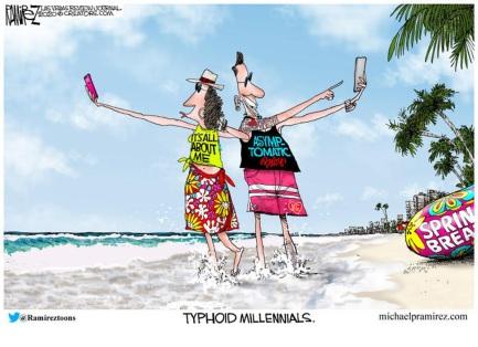 typhoid millennials