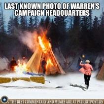 warrens campaign hqs