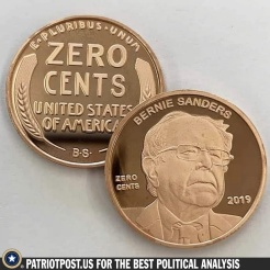 zero cents Bernie