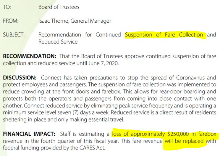 ct replaced fares