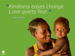 love quiets fear
