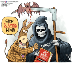 stop blaming him