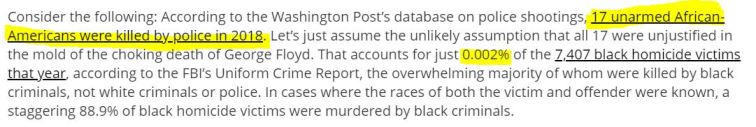 17 black victims