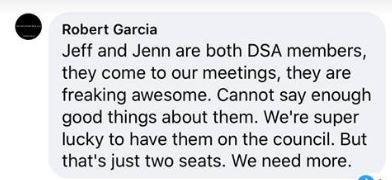 members of DSA